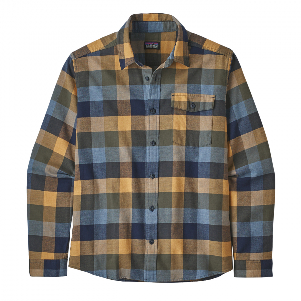 Patagonia Lightweight Fjord Flannel Shirt Unbroken / New Navy
