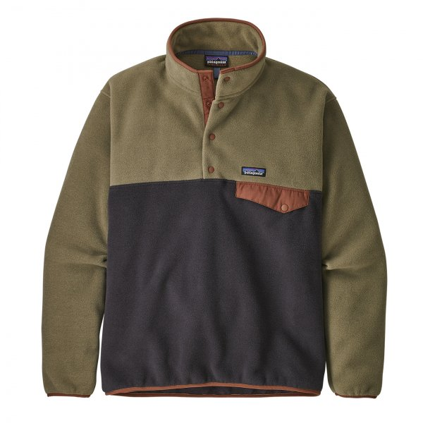 Patagonia Lightweight Synchilla Snap-T Pullover Fleece Sage Khaki