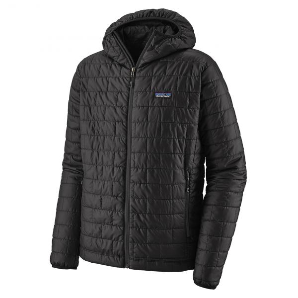 Patagonia Nano Puff Hoody Jacket Black