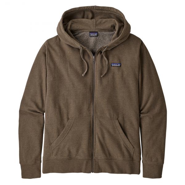 Patagonia P-6 Label Lightweight Full-Zip Hoody Bristle Brown