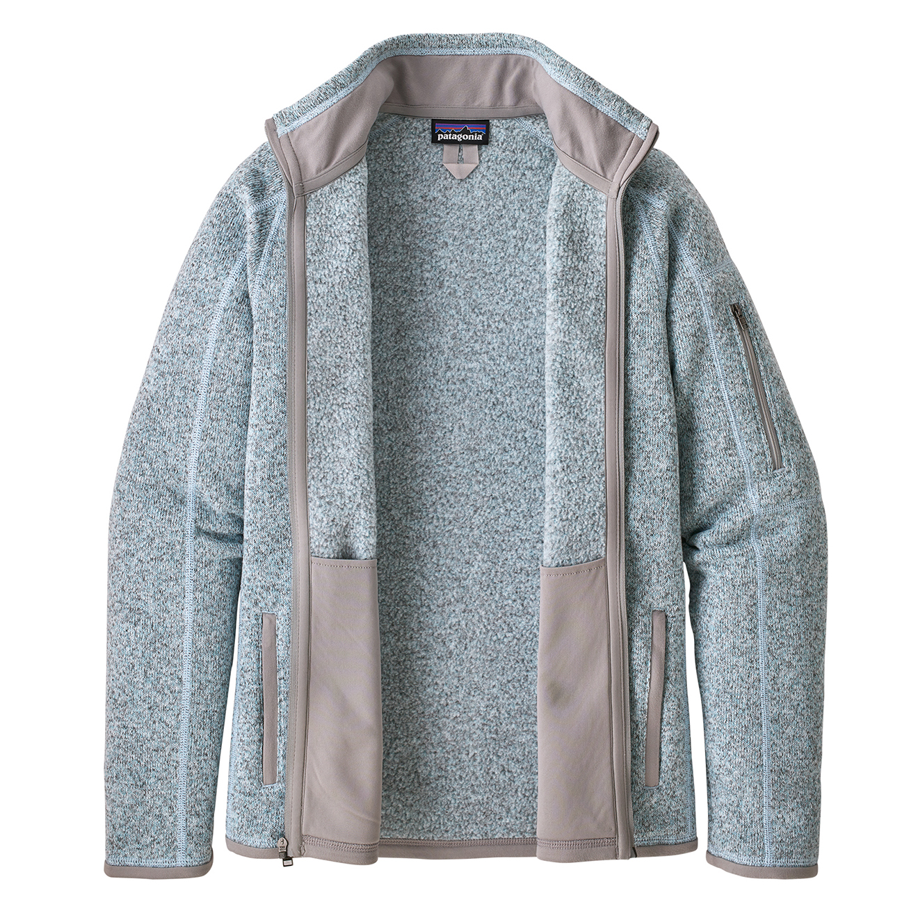 Patagonia Womens Better Sweater Jacket Hawthorne Blue ...