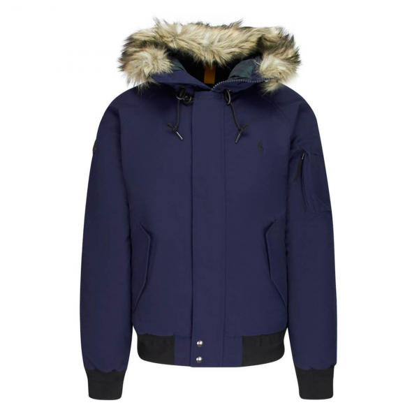 Polo Ralph Lauren Annex Down-Fill Bomber Jacket Navy