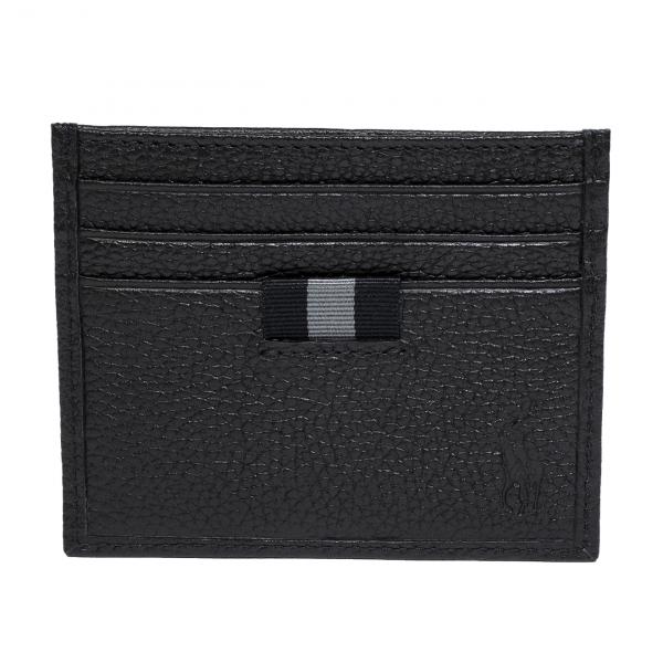 Polo Ralph Lauren Bifold Wallet and Card Case Gift Set Black