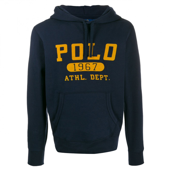 Polo Ralph Lauren Logo Hooded Sweat Navy