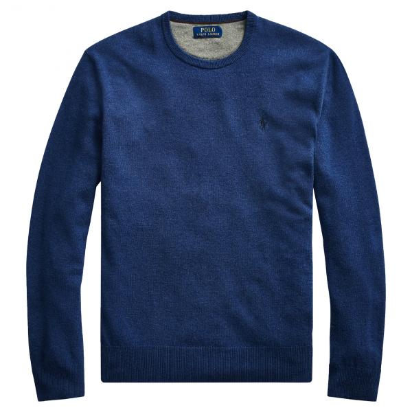 Polo Ralph Lauren Merino Wool Jumper Blue