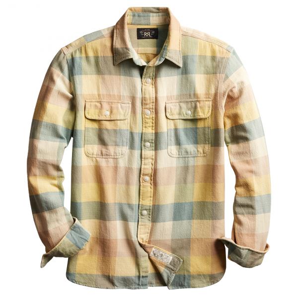 RRL by Ralph Lauren Matlock Work Shirt Yellow