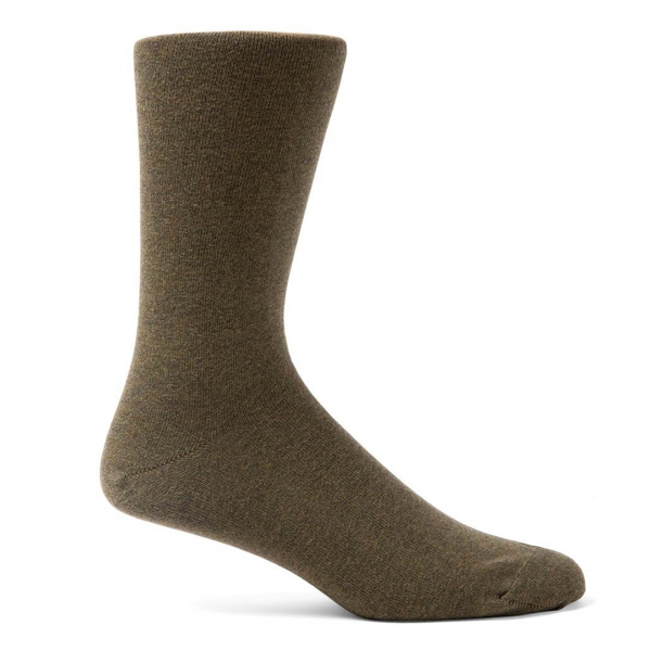 Sunspel Cotton Sock Military Green