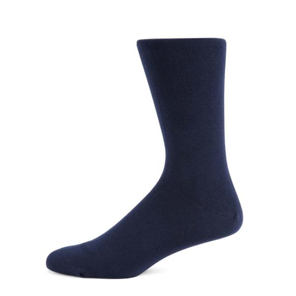 Sunspel Cotton Sock Navy