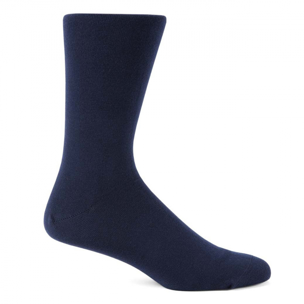 Sunspel Cotton Sock Navy