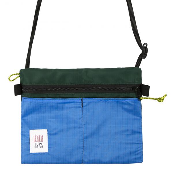 Topo Designs Accessory Shoulder Bag Forest / Royal