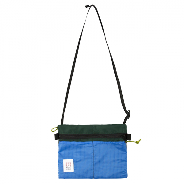 Topo Designs Accessory Shoulder Bag Forest / Royal