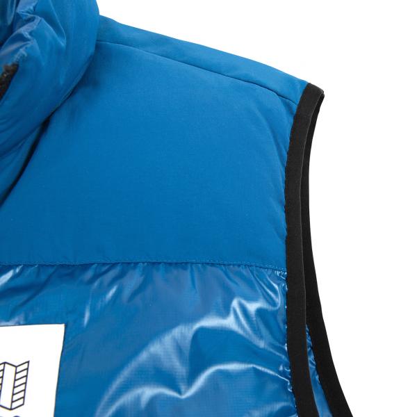Topo Designs Big Puffer Vest Blue