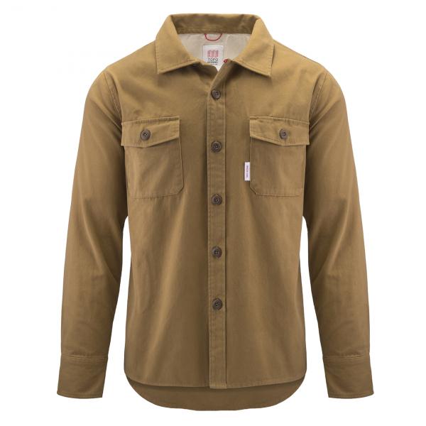 Topo Designs Twill Field Shirt Khaki