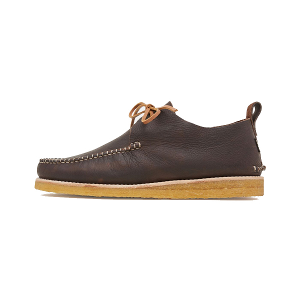 Yogi Lawson Leather Crepe Dark Brown