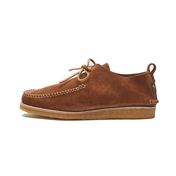 Yogi Lawson Suede Moccasin Shoe Cola