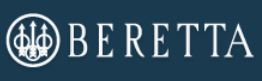 Beretta Logo Dark Blue Background