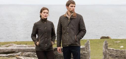 Man and Women Wearing Dubarry Jackets