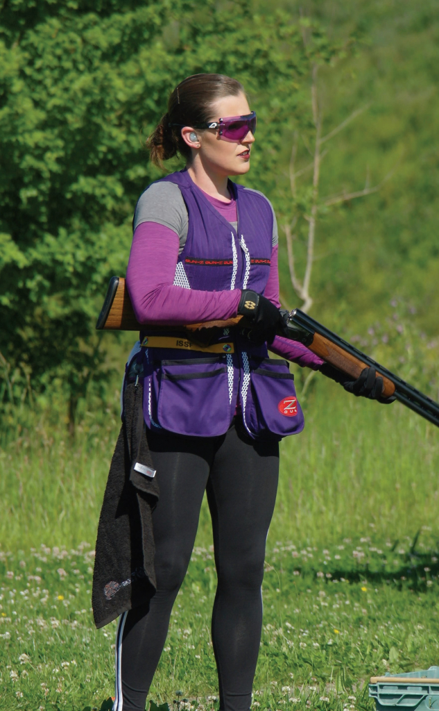 Faye Wills is an Olympic Skeet Shooter from Kent