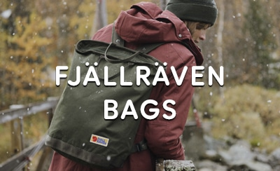 Fjällräven Bags at The Sporting Lodge