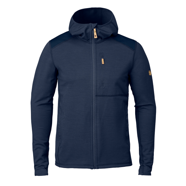 Fjallraven Keb Fleece Hoodie Storm / Night Sky
