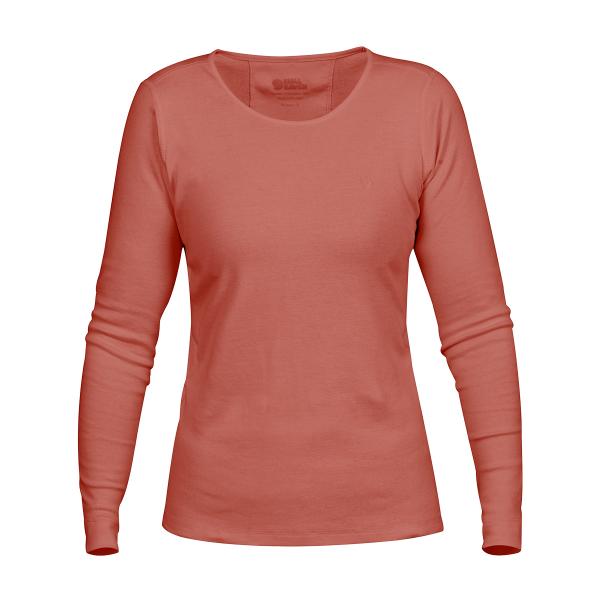 Fjallraven Womens Ovik L/S Top Terracotta Pink