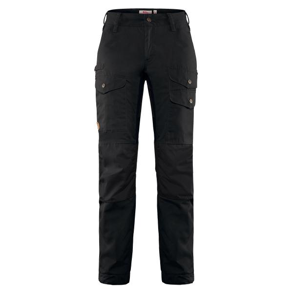 Fjallraven Womens Vidda Pro Ventilated Trousers Reg Black