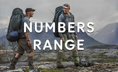 Fjällräven Numbers Range at The Sporting Lodge