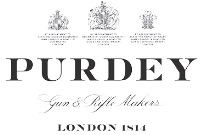 Purdey: Gun and Rifle Makers London 1814 Official Logo