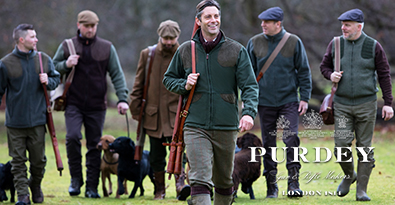 Hunting With Dogs, Wearing Outdoor Clothing From James Purdey & Sons