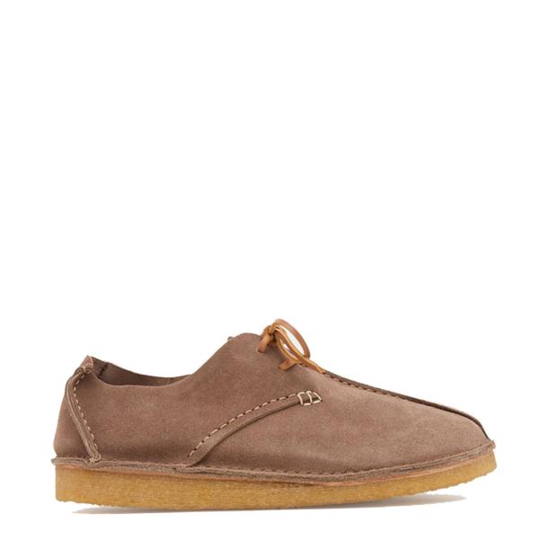 Yogi Caden Centre Seam Suede Shoe Taupe
