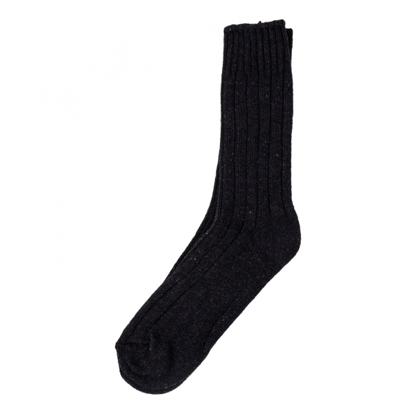 American Trench Boot Sock Black Cherry