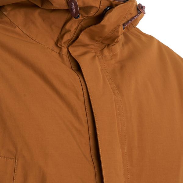 Barbour Ashton Jacket Collar Tumeric