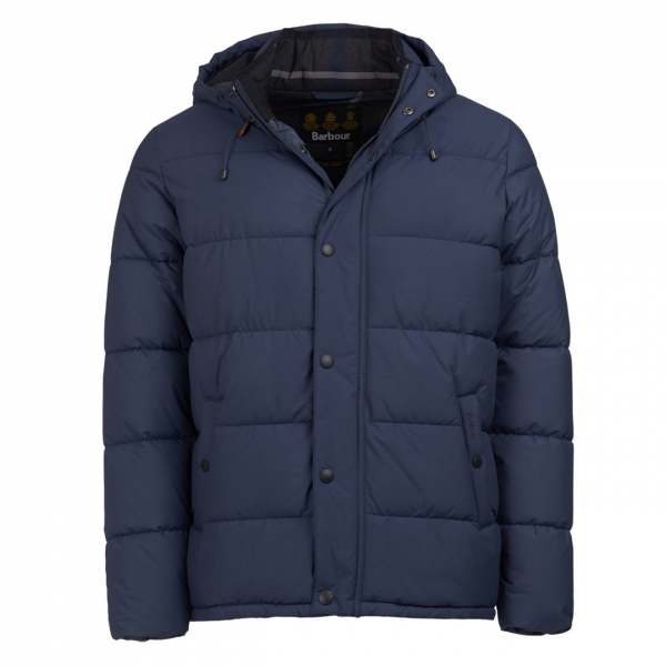 Barbour Beeston Quilt Jacket Moody Blue