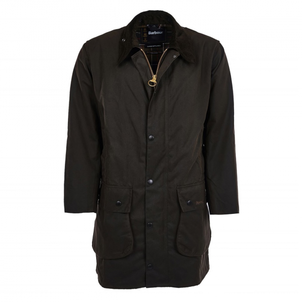 Barbour Classic Northumbria Wax Jacket Olive
