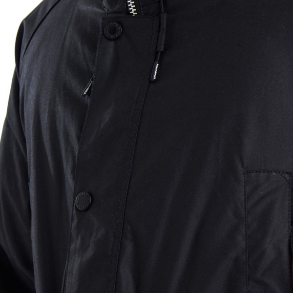 Barbour Fenton Wax Jacket Black