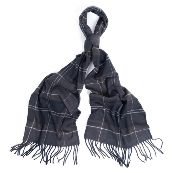 Barbour Galingale Scarf Black / Grey