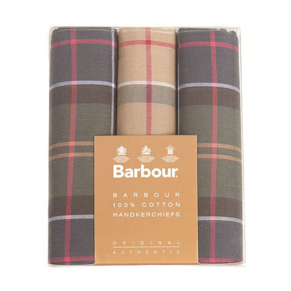 Barbour Handkerchief Pack Barbour Classic