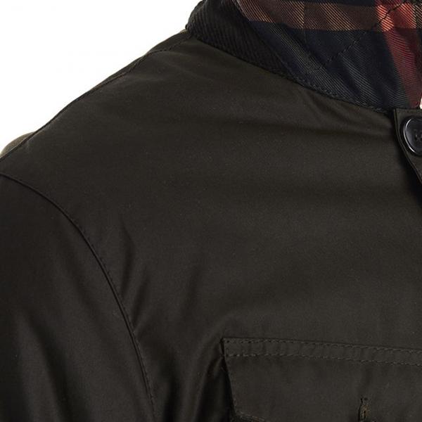 Barbour Keadby Wax Jacket Olive