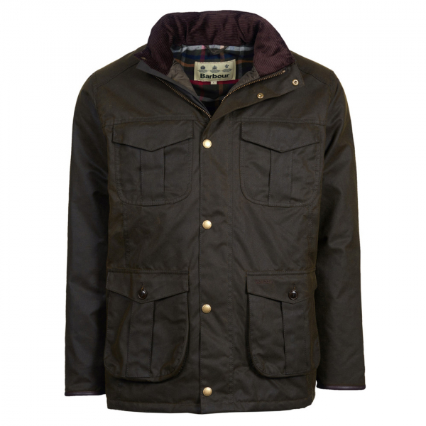 Barbour Latrigg Wax Jacket Olive