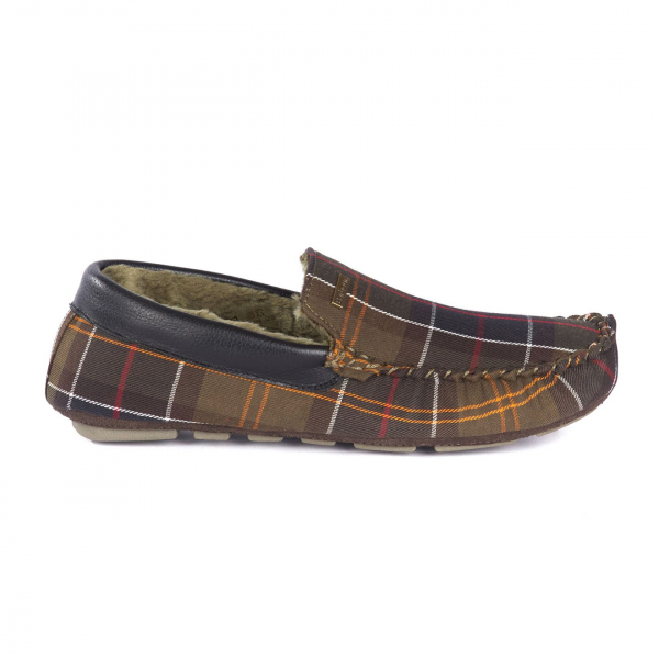 Barbour Monty Slippers Classic Tartan