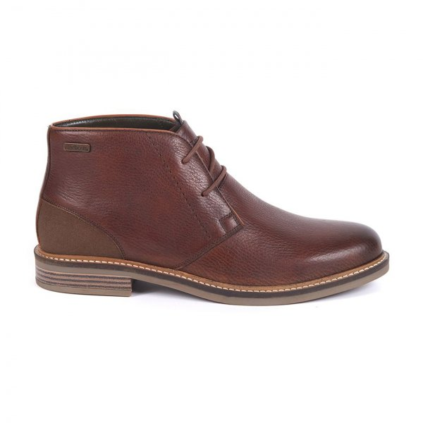 Barbour Readhead Chukka Boots Dark Brown
