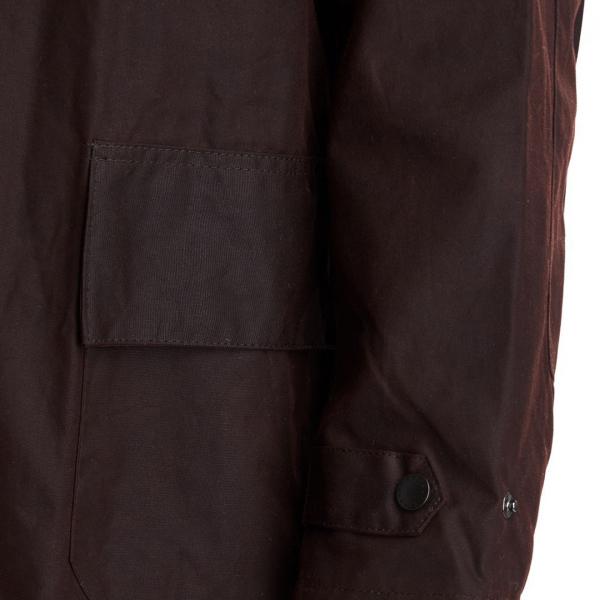 Barbour Stockman Wax Coat Brown