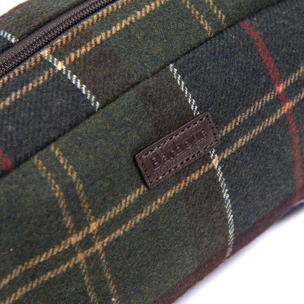 Barbour Tartan Wool Wash Bag Classic