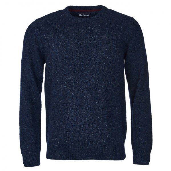 Barbour Tisbury Crew Neck Sweater Navy