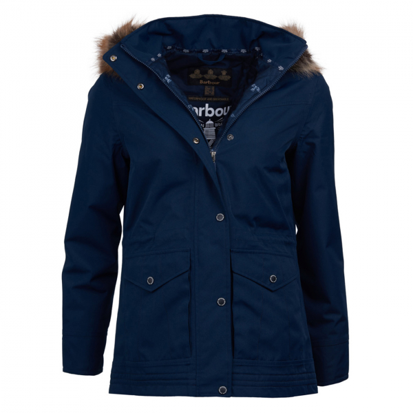 Barbour Womens Abalone Jacket Navy / Navy