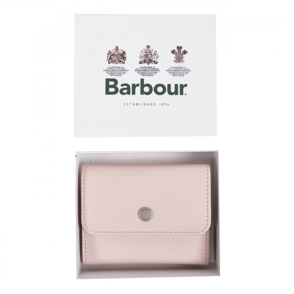 Barbour Womens Billfold Purse Pink