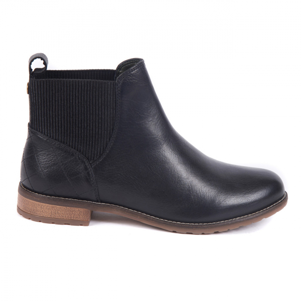 Barbour Womens Hope Chelsea Boot Black