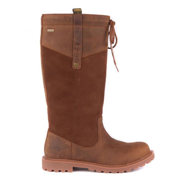 Barbour Womens Ingleton Boot Brown