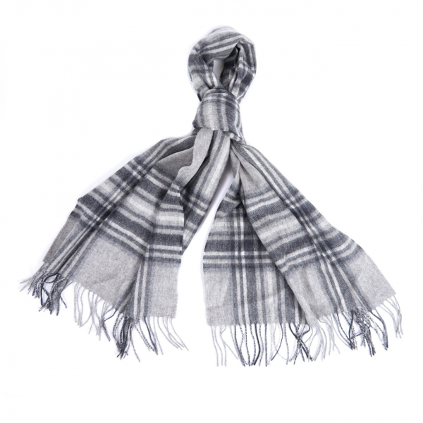 Barbour Womens Lonnen Wrap Scarf Monochrome