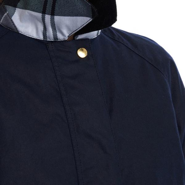 Barbour Womens Lowmond Wax Jacket Royal Navy